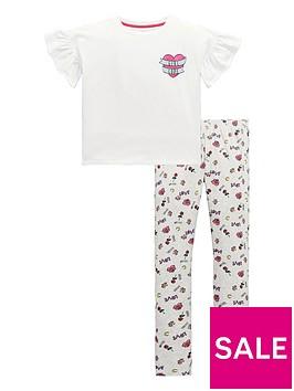 v-by-very-girls-039girl-code039-sketch-print-pyjamas