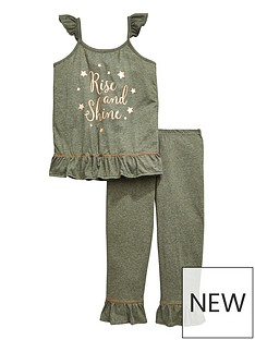 v-by-very-girls-rise-and-shine-frill-pj-set