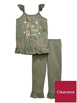 v-by-very-girls-rise-and-shine-frill-pyjama-set