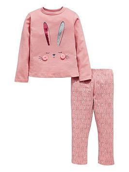 mini-v-by-very-girls-bunny-pyjamas-pink