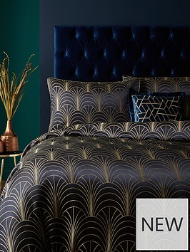ideal-home-noir-nights-deco-curve-jacquard-duvet-cover-set-navy