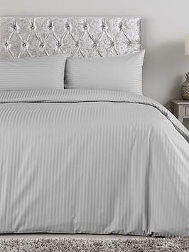 hotel-collection-luxury-300-thread-count-nbspsoft-touch-sateen-stripe-duvet-cover-setnbsp