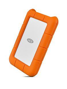 LaCie 1TB Rugged Mini USB-C + USB 3.0 portable