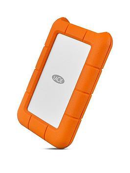 Lacie 2Tb Rugged Mini Usb-C + Usb 3.0 Portable