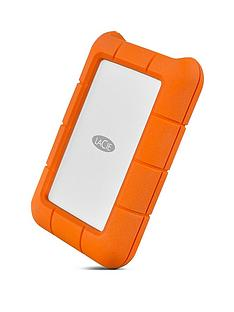 LaCie 4TB Rugged Mini USB-C + USB 3.0 portable