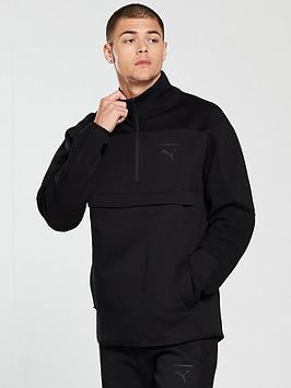 puma-pace-savannah-half-zip-track-top