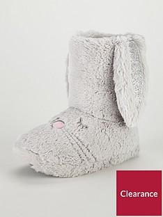 mini-v-by-very-girls-soft-cosy-rabbit-boot-slippers-grey