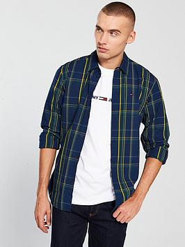 Tommy Jeans Ttommy Jeans Indigo Check Shirt thumbnail