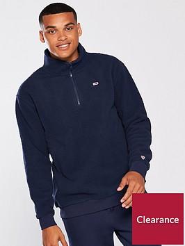 tommy-jeans-classic-half-zip-fleece