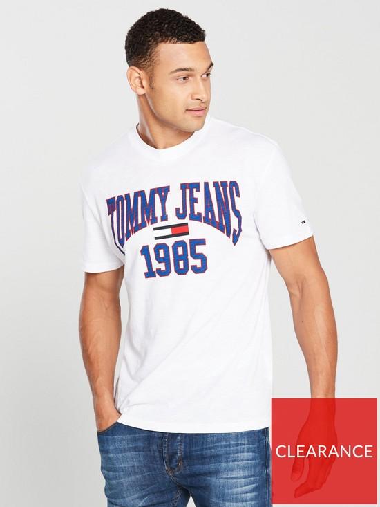 3b4175e6c397 Tommy Jeans Collegiate Logo T Shirt