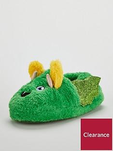 mini-v-by-very-boys-little-monster-fluffy-3d-slippers-green
