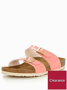 birkenstock-sydney-narrow-two-strap-slide-sandal-cream-coral