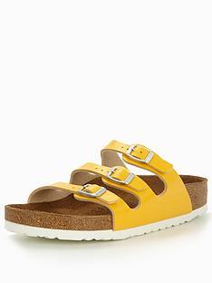 birkenstock-florida-narrow-three-strap-slide-sandal-yellow