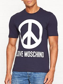 love-moschino-large-peace-sign-print-t-shirt-navy