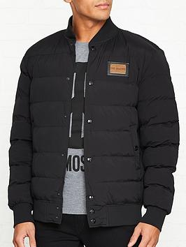 love-moschino-logo-plaque-quilted-jacket-black