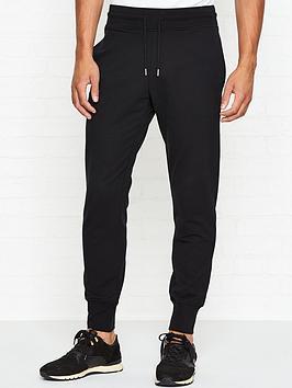 love-moschino-slim-fit-logo-detail-joggers-black