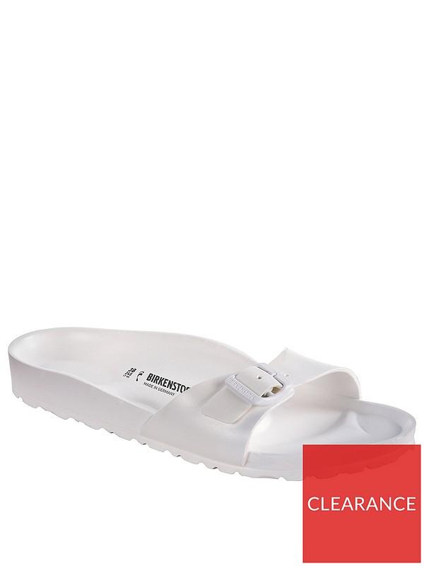 Madrid Lightweight EVA Fit Flat Sandals White