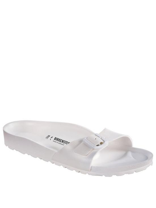 f6f5abd35408 Birkenstock Madrid Narrow Eva One Strap Sandals - White