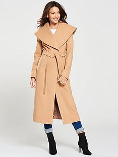 michelle-keegan-wrap-coat-camel