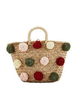 mango-pom-pom-basket-bag