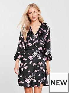v-by-very-jacquardnbspwrap-dress-print