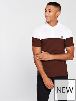 fred-perry-panelled-polo-shirt