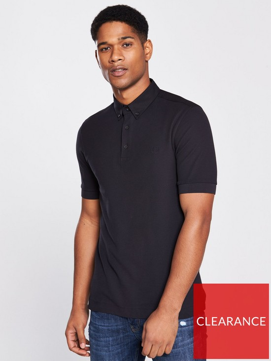 e50f13777 Fred Perry Oxford Trim Polo Shirt