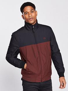 fred-perry-panelled-quilted-jacket