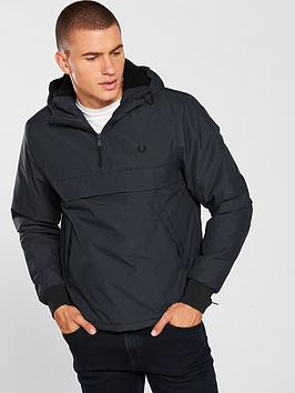 fred-perry-fred-perry-half-zip-hooded-brentham-jacket