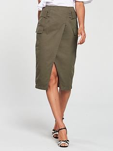 v-by-very-high-waisted-cargo-midi-skirt-khaki