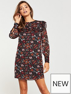 v-by-very-frill-yolk-and-sleeve-tunic-floral-print