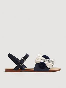 mango-girls-pom-pom-tassel-sandals