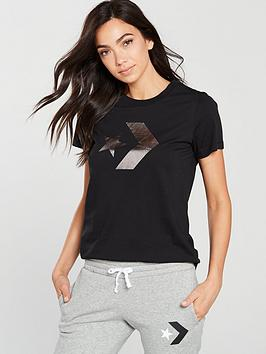 converse-star-chevron-metallic-tee