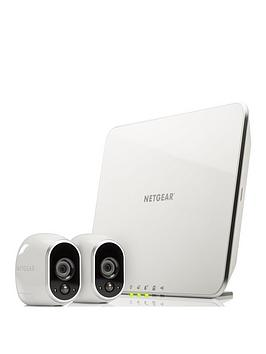 netgear-arlo-smart-security-system-with-2-hd-camerasnbsp--white