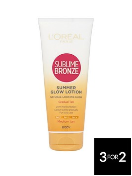 loreal-paris-sublime-bronze-gradual-tan-lotion-200ml