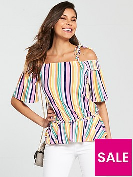 v-by-very-tie-shoulder-top-stripe