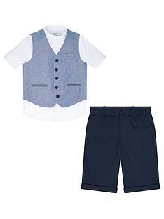 monsoon-draper-3-piece-waistcoat-and-short-set