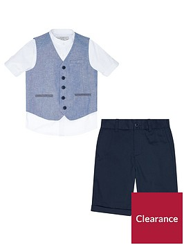 monsoon-draper-3-piece-waistcoat-and-short-set