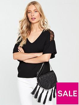 v-by-very-lace-shoulder-detail-top-blacknbsp