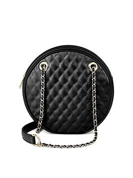 aspinal-of-london-roundnbspquilted-shouldernbspbag-black