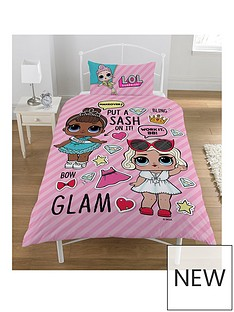 lol-surprise-glam-single-duvet-cover-set