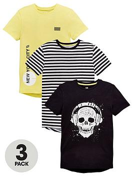v-by-very-3-pack-skull-tees
