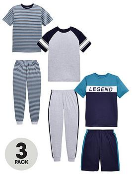 v-by-very-3-pack-legend-short-sleeve-pyjamas