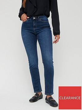 v-by-very-short-isabelle-high-rise-slim-leg-jeans-dark-wash