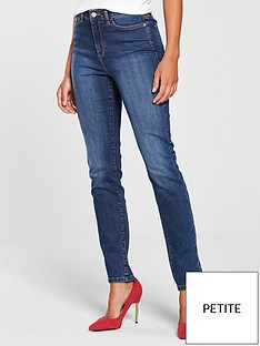 v-by-very-short-isabelle-high-rise-slim-leg-jeans