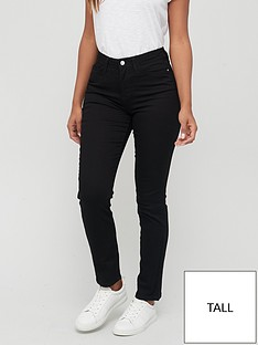 v-by-very-tall-isabelle-high-rise-slim-leg-jean-black
