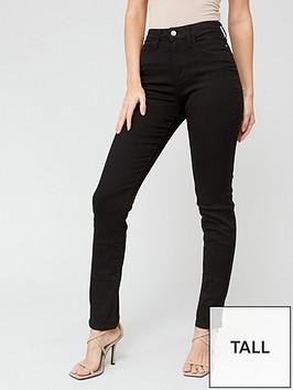 v-by-very-tall-isabelle-high-rise-slim-leg-jean-black