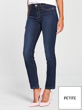 v-by-very-short-ashton-mid-rise-slim-leg-jeans-dark-wash