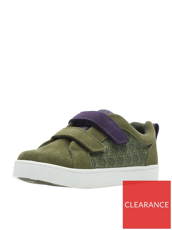 9d9e05e09 Clarks Marvel X Clarks Hulk City Hero Junior Lo Trainer