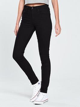 Levi'S 721 Skinny High Rise Jean - Black